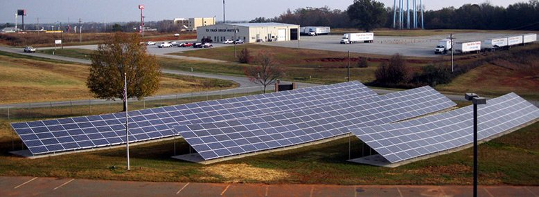 Industrial Solar Installation